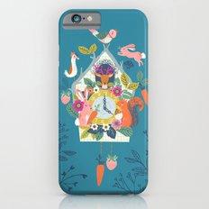 Cuckoo (Teal) iPhone 6 Slim Case