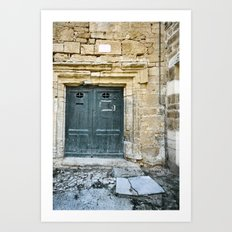 Histoire de portes IV Art Print