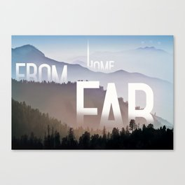 Far from Home Canvas Print