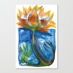 Wild Lotus Canvas Print