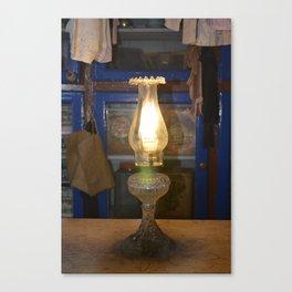 A luz que nos alumia Canvas Print