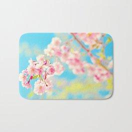 Spring Cherry Blossom Bath Mat
