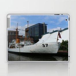 Coast Guard Cutter Taney Baltimore Harbor Laptop & iPad Skin