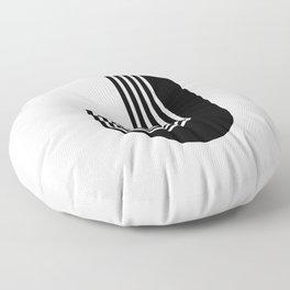 Letter J Floor Pillow
