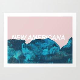 nuevo america Art Print