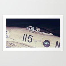 Experimental Pilot Art Print