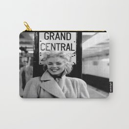 Marilyn#Monroe, Grand Central Station Poster Litho Vintage American Icon Image Carry-All Pouch