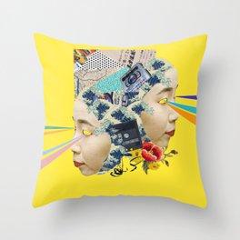Wavey Throw Pillow