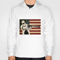 hunter s thompson Hoodies featuring Hunter S. Thompson by Ignacio Pulido