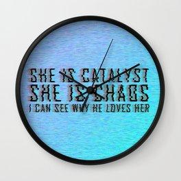 ILLUMINAE | She is Chaos Wall Clock