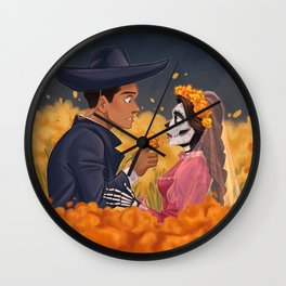 Amor eterno Wall Clock