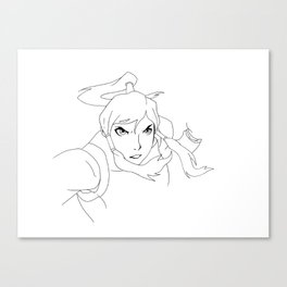 Korra Canvas Print