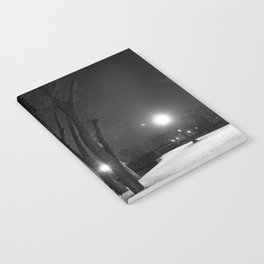 Winter Night's Walk Notebook