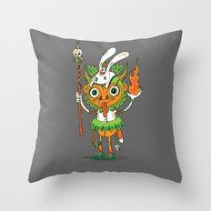 The Hoodoo Man Throw Pillow