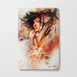 Sweet Disaster Metal Print
