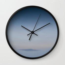 Peaceful Mountain Wall Clock