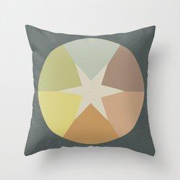 Off-Aligned Babbitt Star Throw Pillow