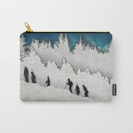 A Snowy Hike II Carry-All Pouch