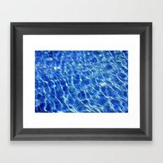 Water surface (2) Framed Art Print