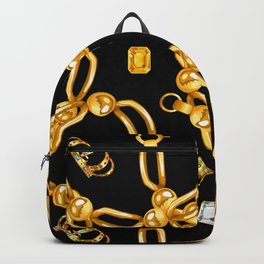 gold party 3 Backpack