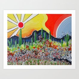 Nature's City Art Print