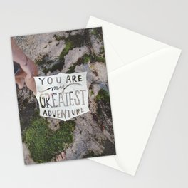 Greatest  Adventure Stationery Cards