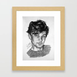Louis Tommo Drawing Framed Art Print