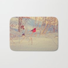 Winter Birds Bath Mat