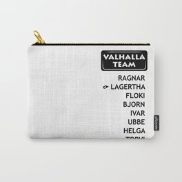 team Lagetha Carry-All Pouch