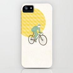 Stache with Sunrise Slim Case iPhone (5, 5s)