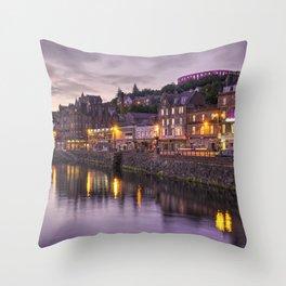 Oban Dusk Throw Pillow