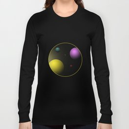 Planets Long Sleeve T-shirt
