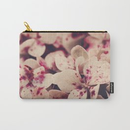 hydrangea - pink freckles Carry-All Pouch