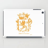 narnia iPad Cases featuring King by John Choi King