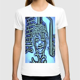 Neon-portrait T-shirt