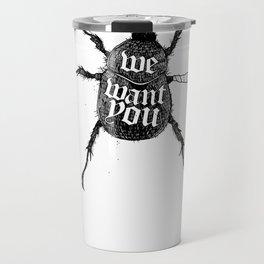 We want you Travel Mug
