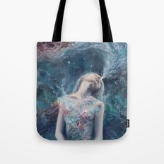 Love Will Split You Open Into Light Tote Bag