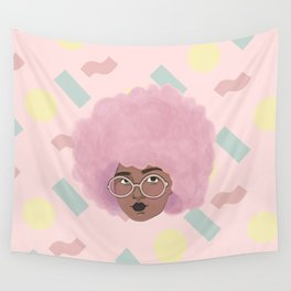 Bubblegum Girl Wall Tapestry