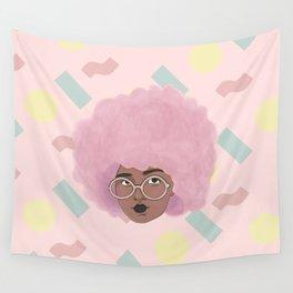 Bubblegum Girl Wall Tapestry