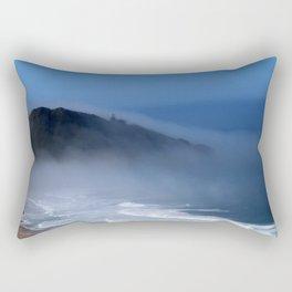 Lighthouse in the Fog Rectangular Pillow