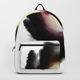 Darkness around the light waterpaint Backpack