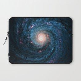 Galaxy Tornado Full of Stars Laptop Sleeve