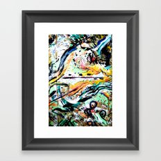 ---- You All The Time // Jeremih (Shlohmo remix) Framed Art Print