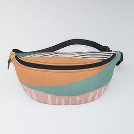 Modern irregular Stripes 02 Fanny Pack