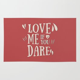 Love me if you dare Rug