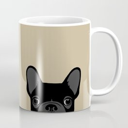 French Bulldog - Black on Tan Coffee Mug