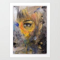 Ojo Art Print