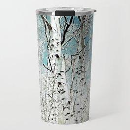 Spring birch trees Travel Mug