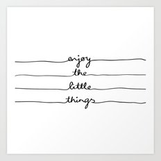 Little Things Art Print