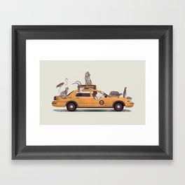 1-800-TAXIDERMY Framed Art Print